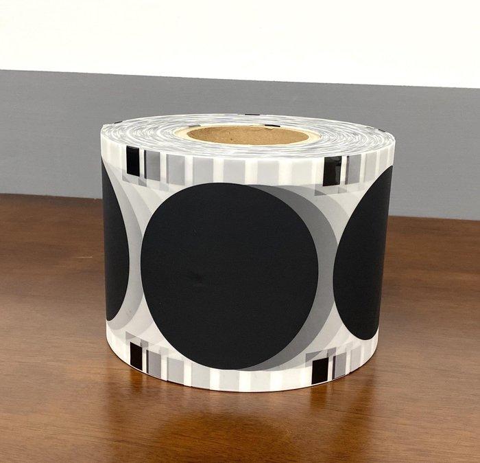 封口機膠膜【全霧黑 封口膜 350M/捲】消光膜 共用膜 杯膜 通用膜 PE薄膜 紙杯膜 塑膠杯膜 全黑