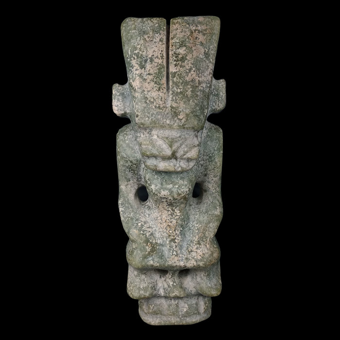 《博古珍藏》天然青黃玉太陽神擺件.1.4公斤.紅山文化文物.老鉈工.早期收藏.感恩特賣會.超值回饋