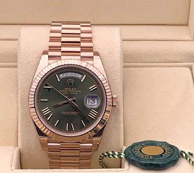 Rolex Day-Date 238235 Green (Roman) (歐洲 水貨)