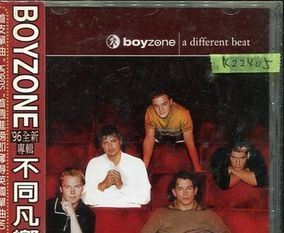 *真音樂*BOYZONE / A DIFFERENT BEAT 二手 K22405