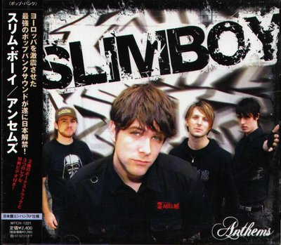 K - SLIMBOY - Anthems - 日版 CD+VIDEO+2BONUS - NEW