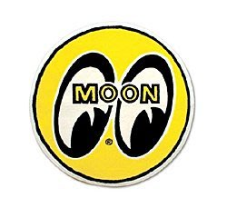 (I LOVE樂多) MOONEYES 經典Logo moon 室內止滑地墊 浴墊 玄關 美式 Old school