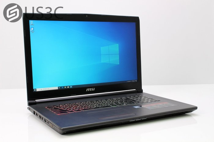 【US3C-小南門店】MSI GF72VR 7RF i7-7700HQ 16G 128 SSD M2+1T GTX-1060 獨顯