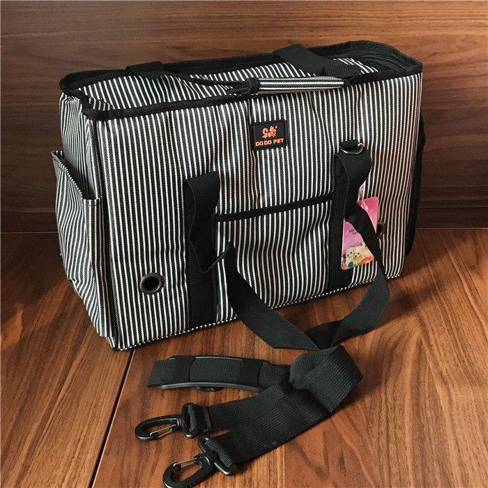 寵物外出旅行包背貓包泰迪比熊吉娃娃博美小狗幼犬便攜背包客摺疊尾牙