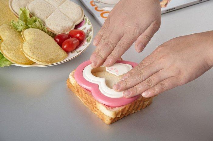 Amy烘焙網:日本三明治壓模 飯糰模具/兒童食物心形造型/創意廚房用品 /米飯壽司/便當模具