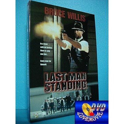 三區正版【終極悍將Last Man Standing(1996)】(寬螢幕)DVD全新未拆《主演:終極警探-布魯斯威利》