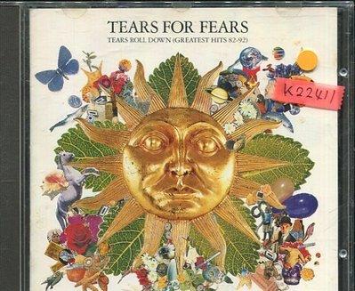 *真音樂*TEARS FOR FEARS / GREATEST HITS 二手 K22411
