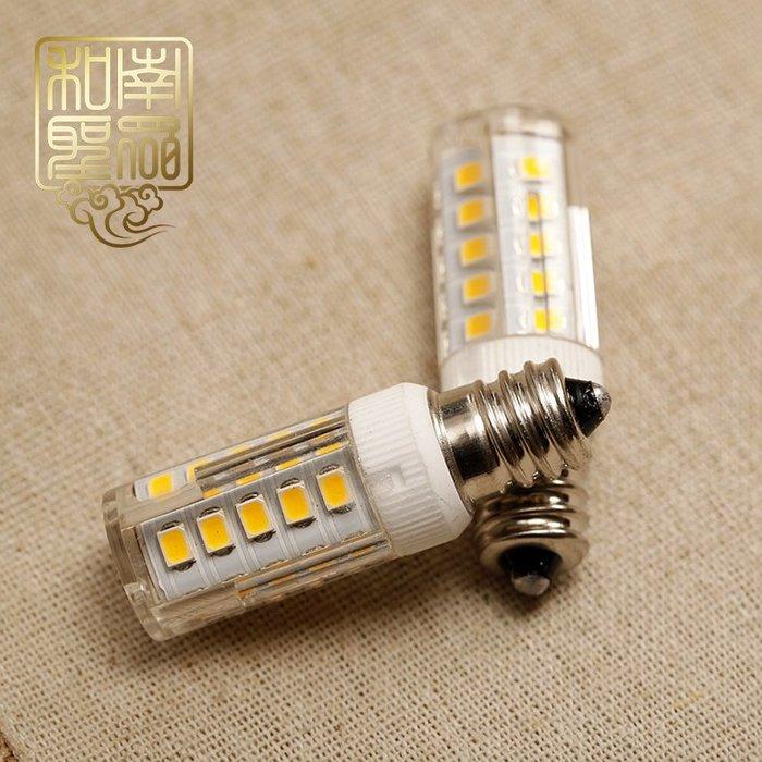 宏美飾品館~led節能玉米燈泡E12燈通用小螺口佛燈財神燈電蠟燭燈泡暖黃燈光支