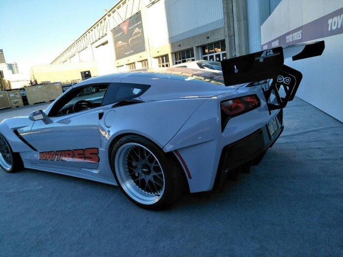 DJD19061204 Corvette C8 尾翼碳纖維進口套件 依當月報價為準