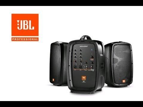 【昌明視聽】JBL EON 208P 300W 攜帶式擴音喇叭