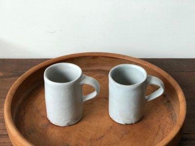 發現花園 日本選物 ~ 日本製 陶藝職人 馬場勝文  濃縮咖啡杯  小馬克杯