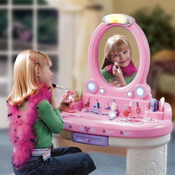 美國 Step2夢幻沙龍 《讓幼兒充分享受化妝扮演的樂趣》◎童心玩具1館◎