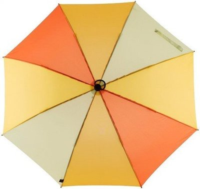 德國[EuroSCHIRM] 全世界最強雨傘 TELESCOPE HANDSFREE / 免持健行傘 小(黃)