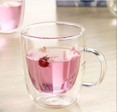 晴天咖啡☼ 手工雙層玻璃杯 加厚型480ml 馬克杯 咖啡杯 真空保溫杯隔熱杯 品茗杯 bodum款 星巴克款 雙層杯