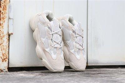 "Adidas Yeezy Desert Rat  Yeezy 500 ""Blush""白灰 休閒運動 慢跑鞋 DB2908 男女鞋"