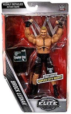 [WWE Taiwan]正版 Brock Lesnar Exclusive Elite Figure F5限量精華版公仔