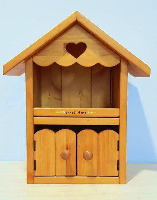 松木 實木 壁櫃 收納櫃 置物櫃**樂在幸福**木作坊 ~A111~松木收納溫馨小屋~非常可愛喔~
