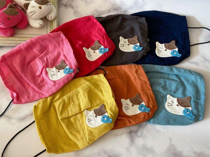 日本卡拉貓~Gon醬小魚掛耳式口罩套