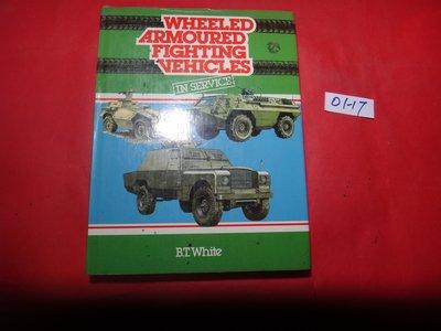 【愛悅二手書坊 01-17】Wheeled Armoured Fighting Vehicles in -(書口寫字)