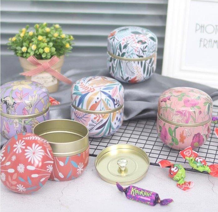 紫滕戀推出膠囊罐清新花茶罐喜糖馬口鐵盒婚禮伴手禮馬卡龍包裝含內蓋