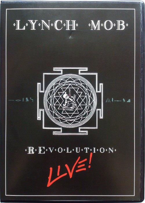 CD+DVD/ Lynch Mob - Revolution Live! 二手 喜馬拉雅