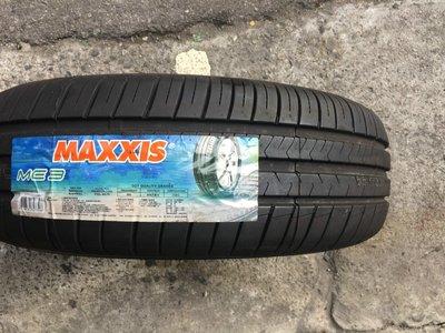+超鑫輪胎鋁圈+   MAXXIS 瑪吉斯 ME-3 ME3 185/65-15