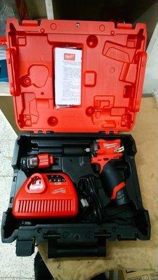 【花蓮源利】M12FIWF12雙3.0套 無刷 四分扳手 米沃奇 12V 充電式 2555-20 M12FIWF12