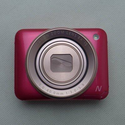 陸版Canon數位相機粉餅機PowerShot N2(粉紅/ 白兩色)全方位自拍為設計概念 另有N1