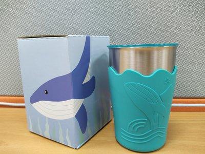 中鋼紀念品 鯨彩都繪冷水杯