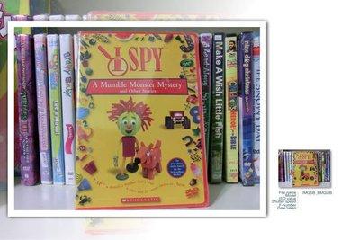*【兒童教育DVD】小pen-*I spy a mumble monster mystery and other stories