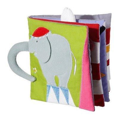 IKEA LEKA全新兒童遊戲書.有聲布書.圖案可愛活潑.大象/ 馬戲團/ 小丑/ 兔子-培養嬰兒感官發育 桃園市