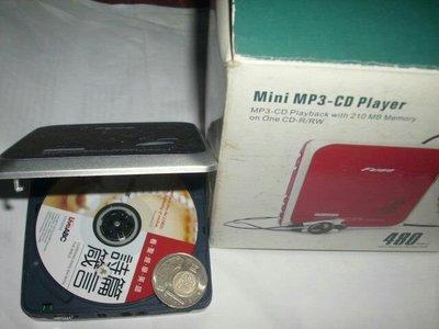 迷你CD隨身聽,CD隨身聽,CD播放器,隨身聽,播放器~迷你CD隨身聽(功能正常,少見,只能使用mini CD光碟片)