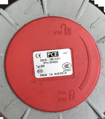PLCMARKET* 快速接頭 PCE Plugs (公插座)3P+E /234(母插座)3P+E / AC415V/6