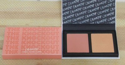 Colourpop The Knockout Pressed Powder Face Duo 打亮腮紅盤