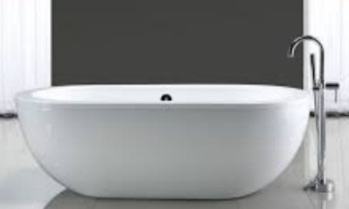 【有顆蕃茄公司貨】 OVE Noah Modern Freestanding Bathtub時尚獨立浴缸(展示品)