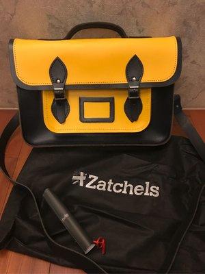 Zatchels 劍橋包 皮革 書包 有購證