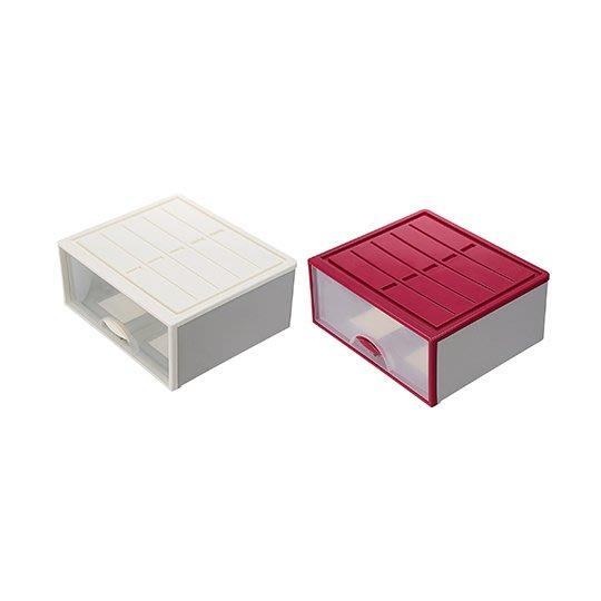 LOFT/4入/免運/抽屜整理箱/收納箱/整理箱/白色系/尿布收/35L/直購價