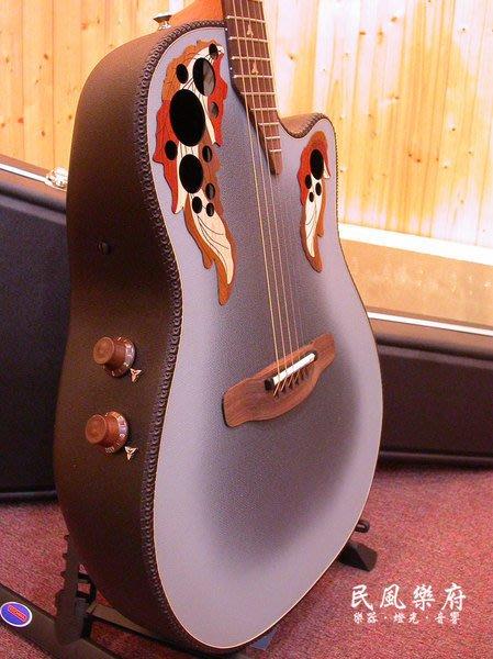 《民風樂府》Ovation Adamas II 30th 復刻限量版 1581-8 頂級葡萄孔碳纖圓背吉他