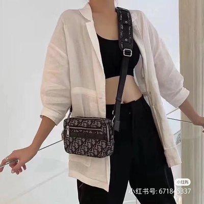 2/20 前代購**可刷卡可分期**代購Dior Oblique SAFARI 郵差包 老花 相機包 男女可用