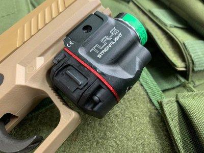 JHS((金和勝 生存遊戲專賣))免運費 TLR-8 爆閃綠雷射槍燈 8337 (不含槍)