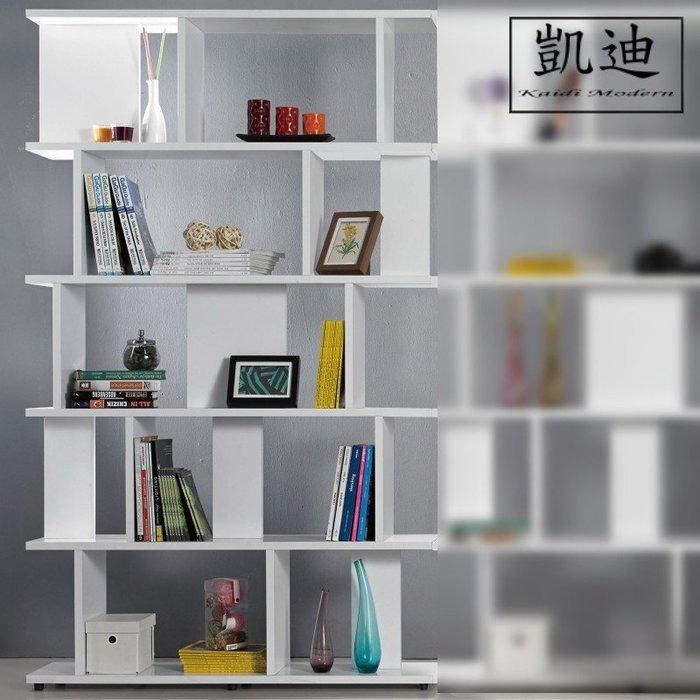 【凱迪家具】M3-374-1海爾斯3.3X7尺白色造型書櫃/桃園以北市區滿五千元免運費/可刷卡