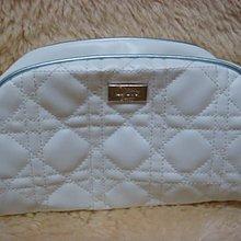 CD迪奧/Christian -Dior 白色高貴質感化妝包/手拿包-全新品