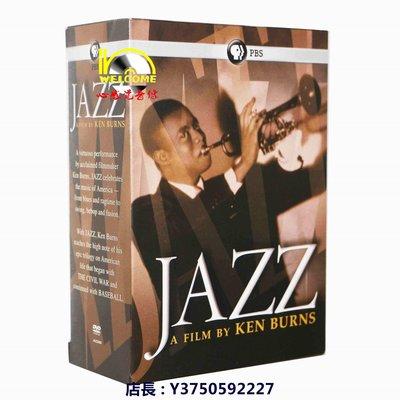 咨穎高清DVD店  歐美影集 美劇原版DVD Jazz 爵士百年 完整版 10碟裝全新盒裝 兩部免運