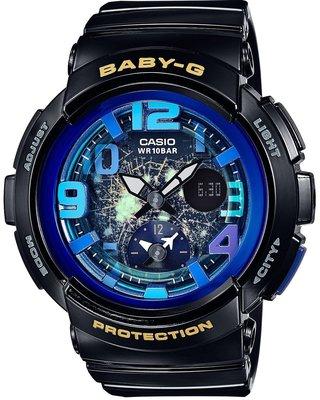 日本正版CASIO卡西歐 Baby-G Beach Traveler BGA-190GL-1BJF 手錶 女錶 日本代購