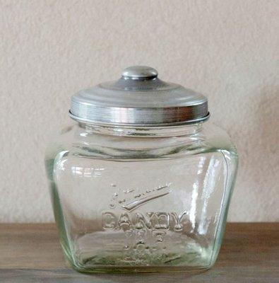 (現貨售完)日本Homestead玻璃復古昭和糖果罐收納罐