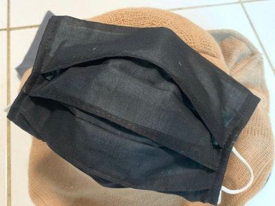 口罩套 口罩布套 素色超細薄棉布/二重紗素色 下標區