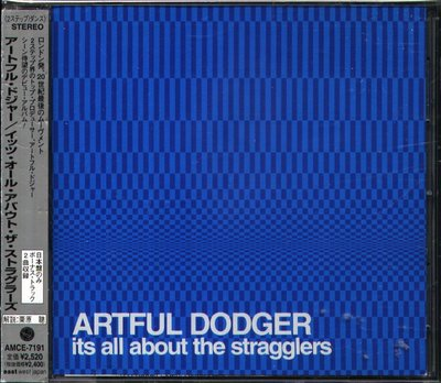 K - Artful Dodger - Its All About The Stragglers - 日版 CD+2