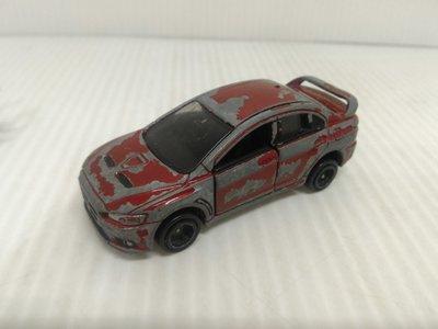 絕版 多美卡 TOMICA NO.67 MITSUBISHI LANCER EVO X 合金車 模型車 玩具車(03
