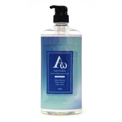 便宜生活館【洗髮精】FORD AO-C洗髮精1000ml 清涼潔淨專用 全新公司貨 (可超取)
