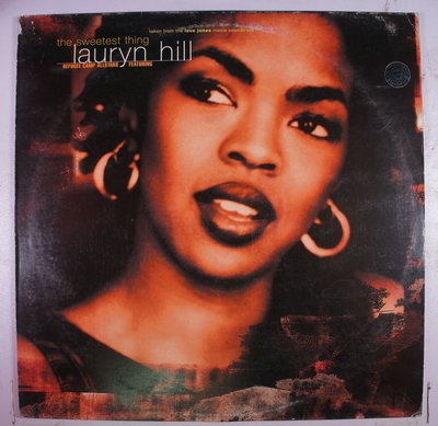 《二手歐版單曲黑膠》Lauryn Hill - The Sweetest Thing